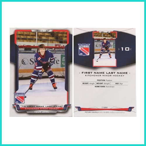Hockey Trader Card