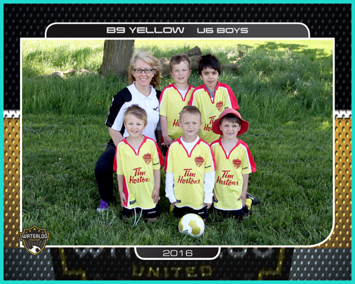 Soccer 8x10 Team Photo
