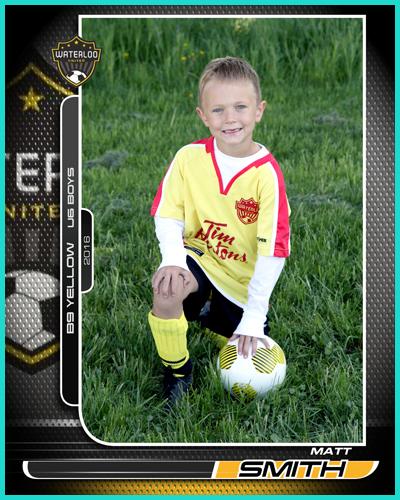 Soccer Trader Card
