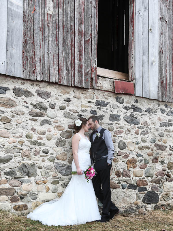 Kitchener farm wedding